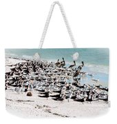 Beach Flock Weekender Tote Bag