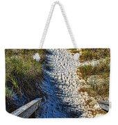 Beach Footprints - Boca Grande Florida Weekender Tote Bag