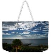 Beach Front Property Weekender Tote Bag