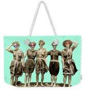 Beach Girls Weekender Tote Bag