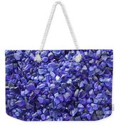 Beach Glass - Blue Weekender Tote Bag