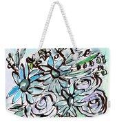 Beach Glass Flowers 2- Art By Linda Woods Weekender Tote Bag