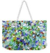 Beach Glass Weekender Tote Bag
