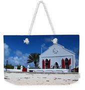 Beach Grand Turk Church Weekender Tote Bag