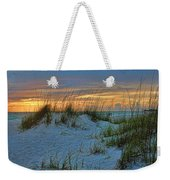 Beach Grass And Sand Dunes Weekender Tote Bag