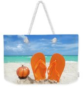 Beach Halloween  Weekender Tote Bag
