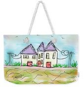 Beach Homes Weekender Tote Bag