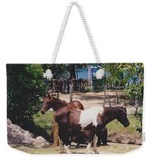 Beach Horses Weekender Tote Bag
