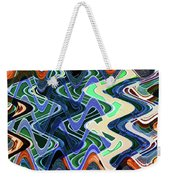 Beach Hotel Abstract 8102-3 Weekender Tote Bag