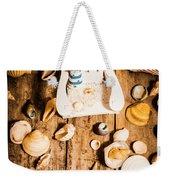 Beach House Artwork Weekender Tote Bag