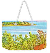 Beach House On The Bay Weekender Tote Bag