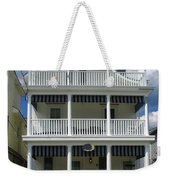 Beach House Panel 2 From Triptych Weekender Tote Bag