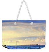 Beach House Window Weekender Tote Bag