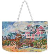 Beach Houses At Pawleys Island Weekender Tote Bag