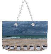 Beach Houses On North Sea Weekender Tote Bag