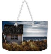Beach Hut Weekender Tote Bag