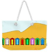 Beach Huts And Sand Weekender Tote Bag