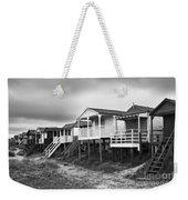 Beach Huts North Norfolk Uk Weekender Tote Bag