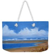 Beach In Norfolk, England Weekender Tote Bag