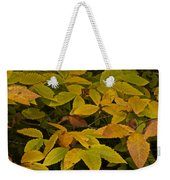 Beach Leaves Weekender Tote Bag