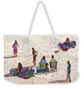 Beach Life Cornwall Weekender Tote Bag