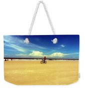 Beach Life On Daytona Beach Weekender Tote Bag