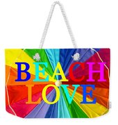 Beach Love Umbrella Spca Weekender Tote Bag