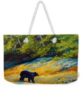 Beach Lunch - Black Bear Weekender Tote Bag