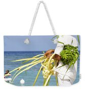 Beach Man Weekender Tote Bag