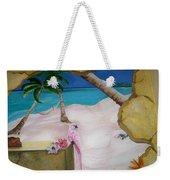 Beach Mural Weekender Tote Bag
