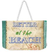 Beach Notes-jp3761 Weekender Tote Bag