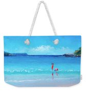 Beach Painting - A Sea Breeze Weekender Tote Bag