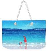 Beach Painting - Cooling Off Weekender Tote Bag