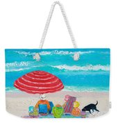 Beach Painting - One Summer Weekender Tote Bag