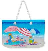 Beach Painting - Summer Beach Vacation Weekender Tote Bag