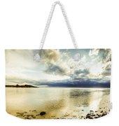 Beach Panorama Of A Sunrise Over The Sea Weekender Tote Bag