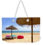 Beach Relaxing Weekender Tote Bag by Carlos Caetano