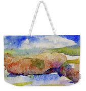 Beach Rocks Weekender Tote Bag