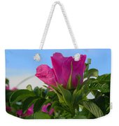 Beach Rose Weekender Tote Bag