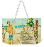 Beach Scence Weekender Tote Bag