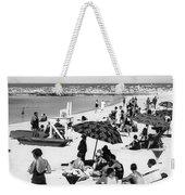 Beach Scene At Cape Cod Weekender Tote Bag