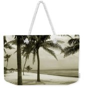 Beach Scene In Key West Weekender Tote Bag