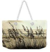Beach - Sepia Weekender Tote Bag