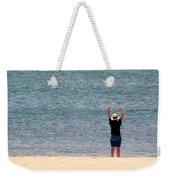 Beach Side Exercises Weekender Tote Bag