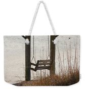 Beach Swing Weekender Tote Bag