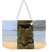 Beach Tiki Weekender Tote Bag