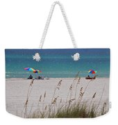 Beach Time At The Gulf - Before The Oil Spill Disaster Weekender Tote Bag