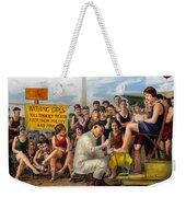 Beach - Toes Tenderly Treated 1922 Weekender Tote Bag