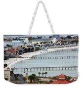 Beach Town Weekender Tote Bag