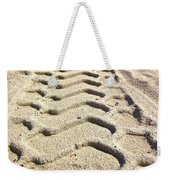 Beach Tracks Weekender Tote Bag
